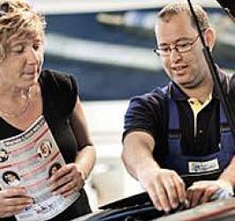 Inspektions-Service mit Mobilitätsgarantie